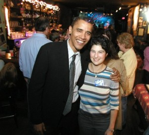 Marni Willenson & Barack Obama